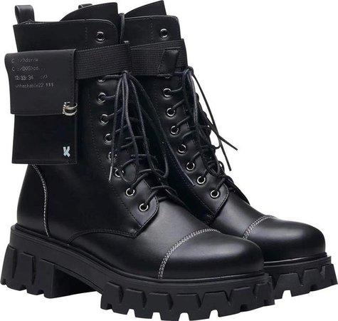 *clipped by @luci-her* Koi Footwear - Banshee Fallout Cyber Boots - Buy Online Australia – Beserk