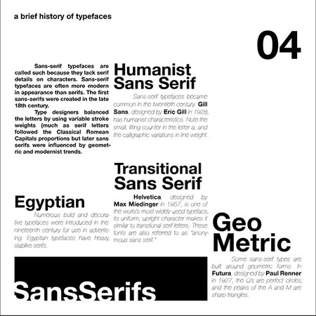 Figuring Out Type (Book on Typography) on Behance