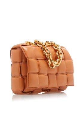 The Chain Cassette Padded Leather Crossbody Bag By Bottega Veneta | Moda Operandi