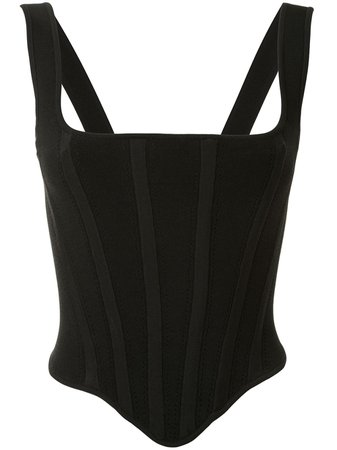 Dion Lee Pointelle Corset Top - Farfetch