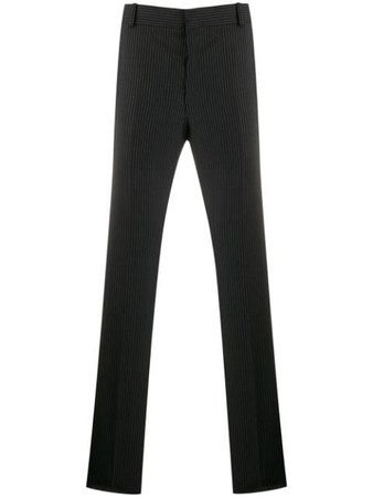 Alexander McQueen Pinstripe Tailored Trousers