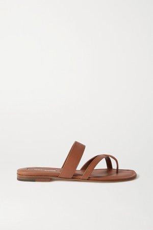 Susa Leather Sandals - Tan