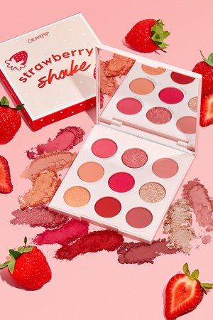 strawberry palette coloupop