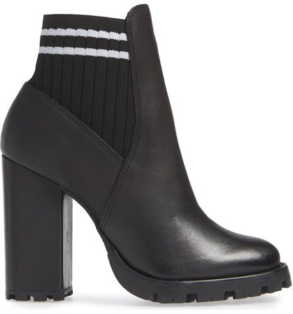 Schutz Ilenne Platform Sock Bootie (Women) | Nordstrom