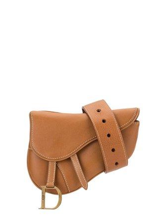 Christian Dior Pre-Owned Saddle Belt Bag Vintage | Farfetch.com