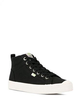 Cariuma OCA High Black Canvas Sneaker - Farfetch