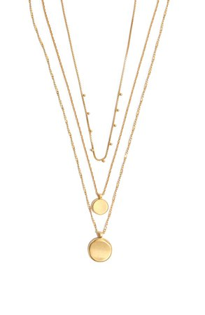 Madewell Coin Layered Necklace   Nordstrom