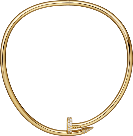 CRN7424270 - Collier Juste un Clou - Or jaune, diamants - Cartier