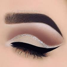 white eye makeup - Google Search