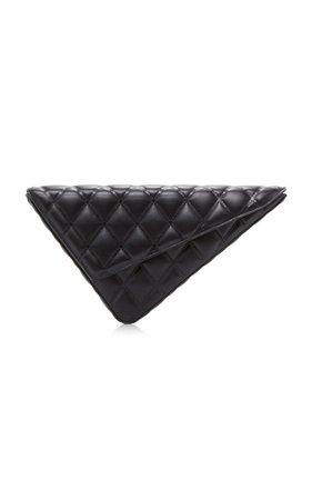 Quilted Leather Clutch by Balenciaga | Moda Operandi