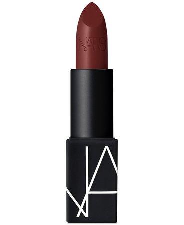 Lipstick NARS Deep Crimson - Matte Finish & Reviews - Makeup - Beauty - Macy's