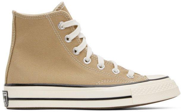 Tan Chuck 70 High Sneakers