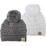 Amazon.com: H-3847-816.06 Kids Beanie (NO POM) - Grey/Black #31: Clothing
