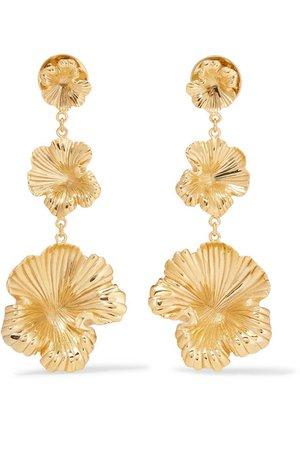 Meadowlark | Gold-plated earrings | NET-A-PORTER.COM