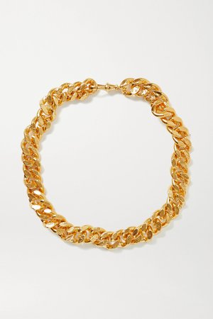 Gold The Dante gold-plated necklace | Alighieri | NET-A-PORTER