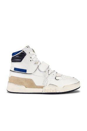 Isabel Marant Alsee Sneaker in Electric Blue | REVOLVE