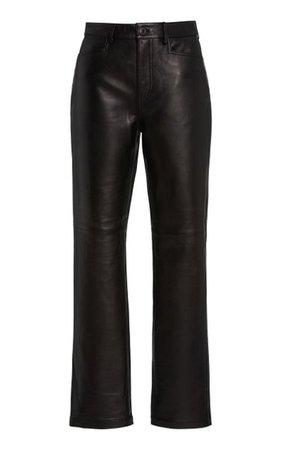 Straight-Leg Leather Pants By Proenza Schouler White Label   Moda Operandi
