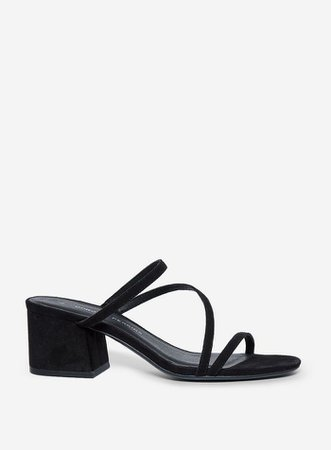 Black 'Sylon' Block Heel Sandals | Dorothy Perkins