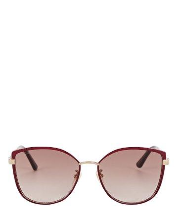 Gucci | Oversized Cat Eye Sunglasses | INTERMIX®