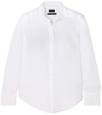 Perfect Linen Shirt - White