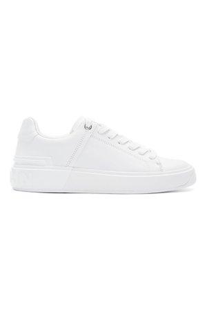 White B court sneakers shoe