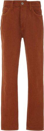 Cigarette Slim-Leg Jeans