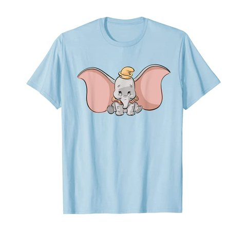 Amazon.com: Disney Classic Dumbo Cute Baby Elephant T-Shirt: Clothing