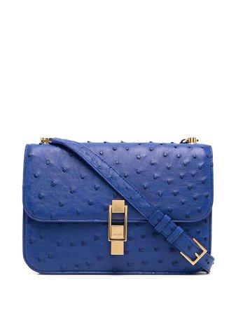 Saint Laurent Carre Textured Shoulder Bag - Farfetch