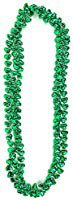 Amazon.com: Skeleteen Green Shamrock Beads Necklaces - St Patricks Day Irish Clover Bead Necklace Party Favors Pack - 1 Dozen: Toys & Games