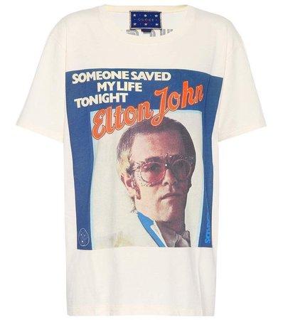Gucci - X Elton John printed T-shirt