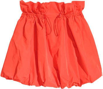 Balloon Skirt - Red