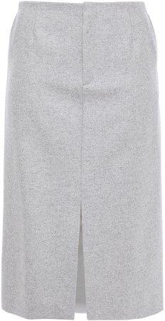 Bren Herringbone Wool-blend Pencil Skirt