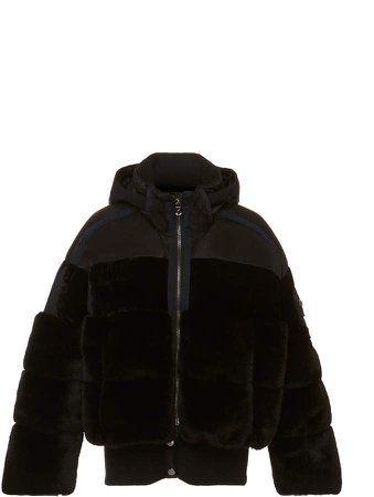 Sport Duna Faux Fur and Shell Jacket Size: 4