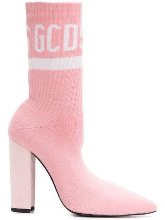 Gcds logo sock boots