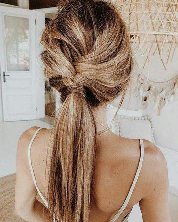 Hairstyle inspiration 😊❤ | girl, hair e summer