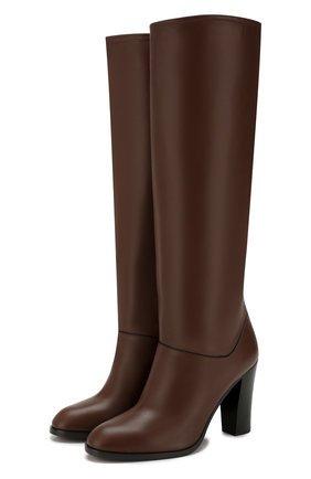 Женские коричневые кожаные сапоги debbie LORO PIANA — купить за 137500 руб. в интернет-магазине ЦУМ, арт. FAI7052