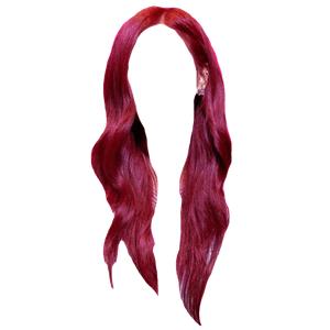 RED HAIR PNG ROSE
