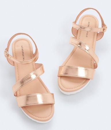 Strappy Flatform Sandal