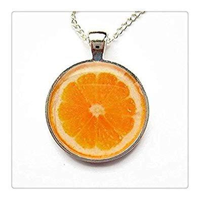 Orange Slice Necklace