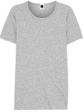 Melange Organic Cotton-jersey T-shirt