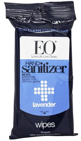EO natural saniziting wipes