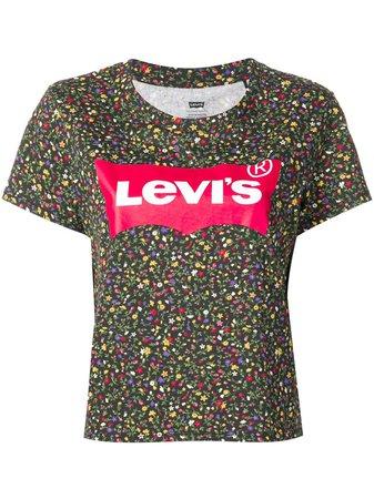 Levi's Floral Print T-shirt - Farfetch