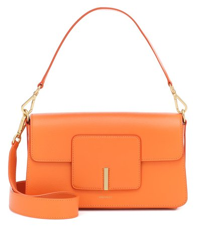 Wandler - Georgia leather shoulder bag | Mytheresa
