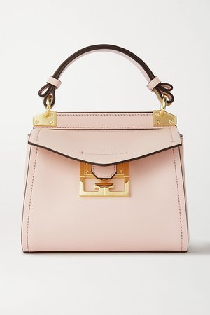 Pink Mystic mini textured-leather tote | Givenchy | NET-A-PORTER