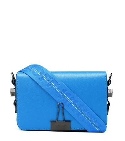 Small Binder Clip leather shoulder bag