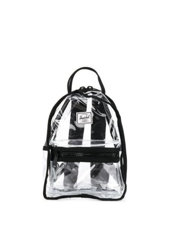 Herschel Supply Co. Logo Patch Transparent Backpack - Farfetch