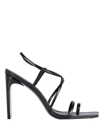 Cult Gaia Sandra Strappy Leather Sandals | INTERMIX®