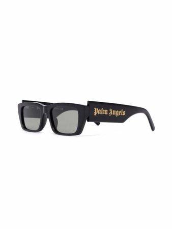 Palm Angels Palm rectangle-frame Sunglasses - Farfetch