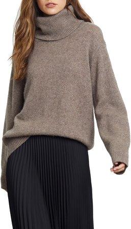 Imogen Turtleneck Cashmere & Silk Sweater