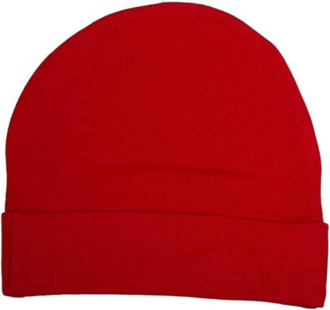 Amazon.com: Baby Milano Red Beanie Hat: Clothing